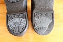 靴の片減り